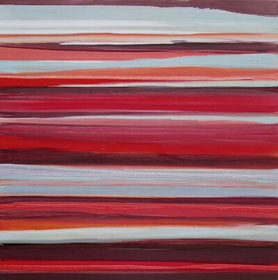 Bénédicte Gimonnet, 'Lineament SQ Rouge', 2016