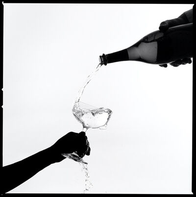 Tyler Shields, 'Champagne Pour Silhouette', 2021