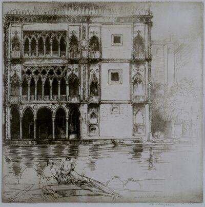 Donald Shaw MacLaughlan, 'Ca D'Oro, Venice', 1922