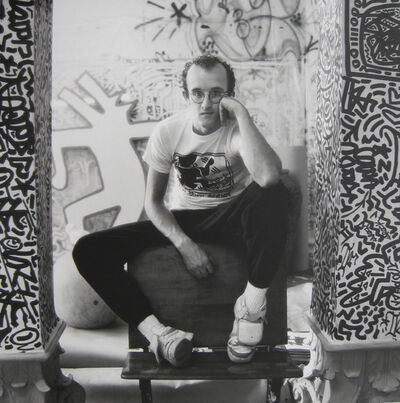 Jeanette Montgomery Barron, 'Keith Haring, N.Y.C.', 1985