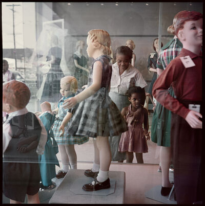 Gordon Parks, 'Ondria Tanner and Her Grandmother Window-shopping, Mobile, Alabama', 1956-printed in 2015