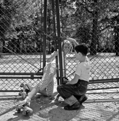 Vivian Maier, 'VM1962W02056 - Chicago, 1962, Roller-skates', Printed 2017