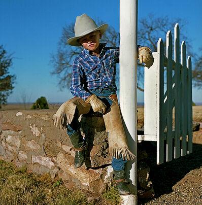 Derrick Santini, 'Young cowboy, Amarillo, USA', 1989