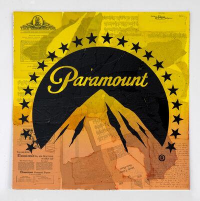 Cey Adams, 'Paramount (Yellow Mountain)', 2018