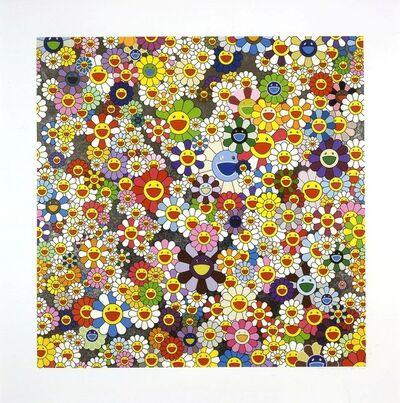 Takashi Murakami, 'When I Close My Eyes, I see Shangri-la', 2012