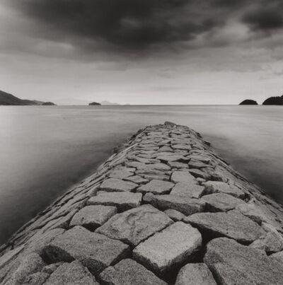 Michael Kenna, 'Rocky Pier, Tsuda, Shikoku, Japan', 2001