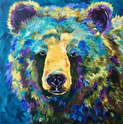 LINDA ISRAEL, 'Lazurite Bear', 2019