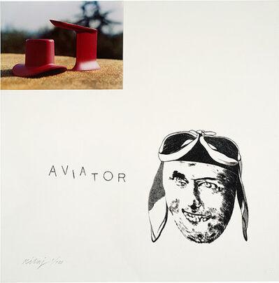 R. B. Kitaj, 'Aviator', 1971