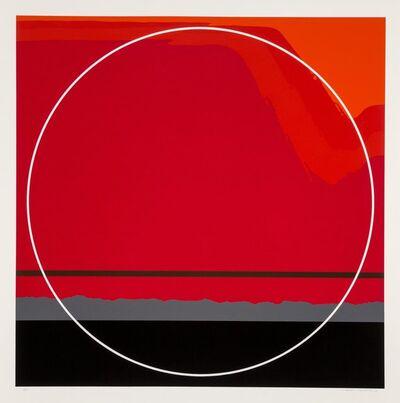 Thomas W. Benton, 'Red Landscape', 1979