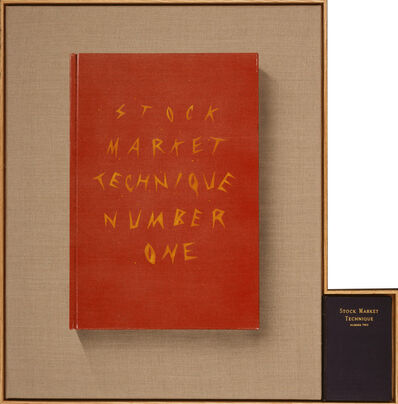 Ed Ruscha, 'Stock Market Technique, Numbers 1 & 2', 2002