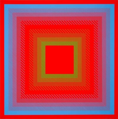 Richard Anuszkiewicz, 'Spectral Cadmium ', 1968