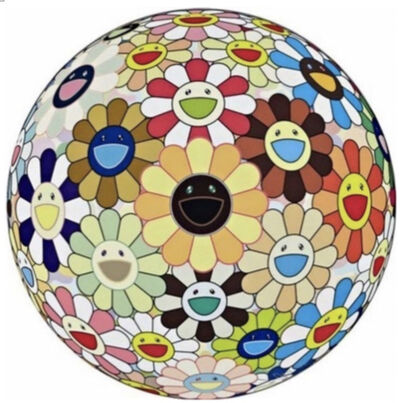 Takashi Murakami, 'Flower Ball(3D) Sunflower ひまわり', 2011