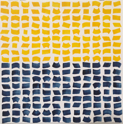 Jacob Ouillette, 'Yellow/Blue 108', 2018