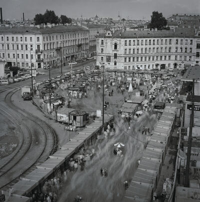 Alexey Titarenko, 'Sennaya Square in August (19) (a day after economic collapse), St. Petersburg, ', 1998