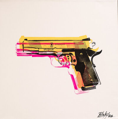 RISK, 'Tools of the Trade Gold (Gun)', 2016