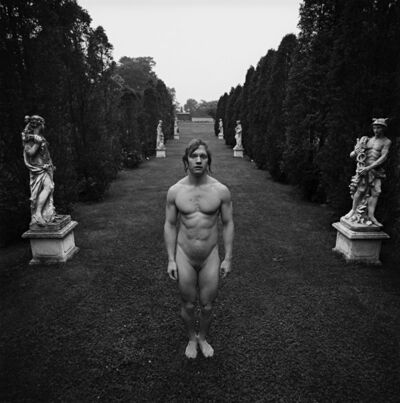 Arthur Tress, 'Hermaphrodite behind Venus and Mercury, East Hampton, NY', 1973/2008