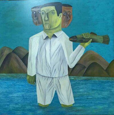 Salah Elmur, 'Tilapia fish / السمك البلطي', 2019