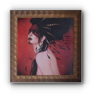 Sylvia Ji, 'Red Crow', 2009