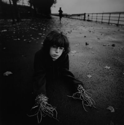 Arthur Tress, 'Boy with Root Hands, NY', 1971