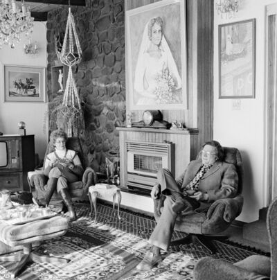 David Goldblatt, 'Chairman of the Boksburg Town Council Management Committee, Councillor Chris Smith and Mrs. Smith at home', 1980