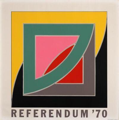 Frank Stella, 'Referendum 70', 1970