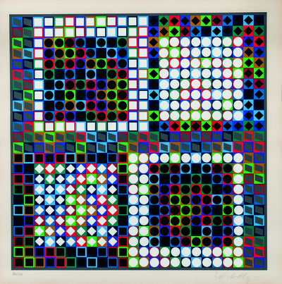 Victor Vasarely, 'Our-MC-2, from the album Clarities', 1970