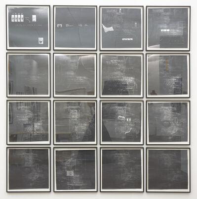 Tacita Dean, 'Sixteen Blackboards', 1992