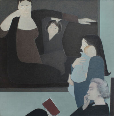 Will Barnet, 'Three Generations', 1990