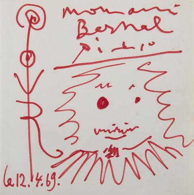 Pablo Picasso, 'Sans titre', 1969