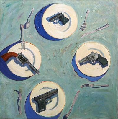 Kitty Caparella, 'Smoking, or Non-Smoking', 2001