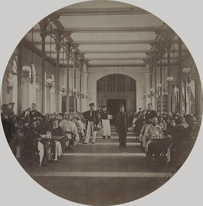 Charles Nègre, 'The Refectory, Vincennes Imperial Asylum', 1859/1859