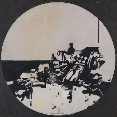 Gianfranco Ferroni, 'Oggetti in un tondo', 1965
