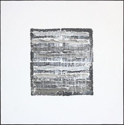 Len Klikunas, 'Gray Strata Pattern Berlin ', 2018