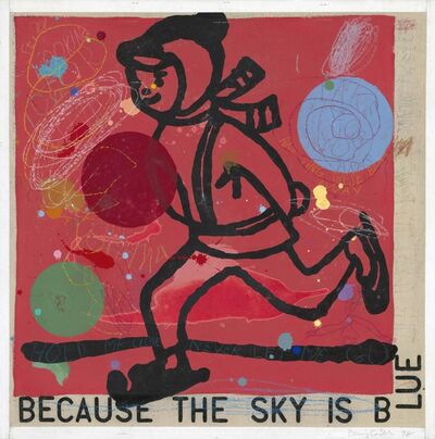 David Spiller, 'Because the Sky is Blue', 1998