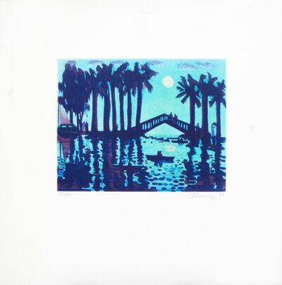 Carlos Almaraz, 'Moonlight Bridge', 1989