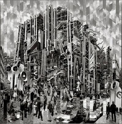 Serge Mendjisky, 'Centre Pompidou', 2017