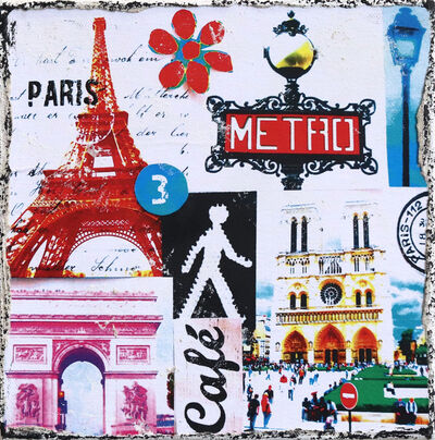 Marion Duschletta, 'Paris Metro', 2016
