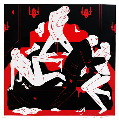 Cleon Peterson, 'Pissers II', 2018