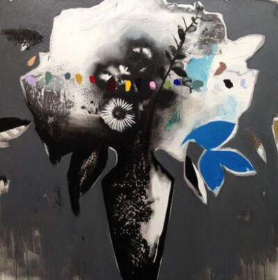 Emily Filler, 'Black + White + Rainbow bouquet II', 2018