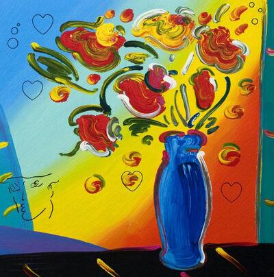 Peter Max, 'Vase of Flowers', 2011