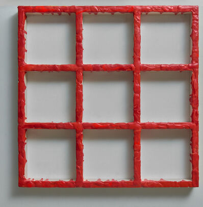 Sigfredo Chacón, 'Grid Red', 2019