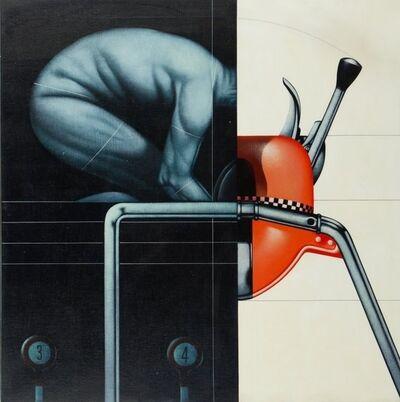 Sergio Sarri, 'Esercizio all'attrezzo', 1972