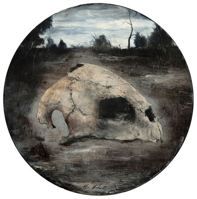 Miles Cleveland Goodwin, 'Turtle Skull', 2016