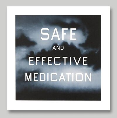 Ed Ruscha, 'Safe & Effective Medication', 2002
