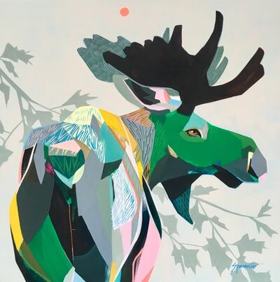 Jennifer Sparacino, 'Moose and Maple', 2018