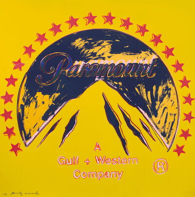 Andy Warhol, 'Paramount, from the Ad Series, Unique Trial Proof', 1985