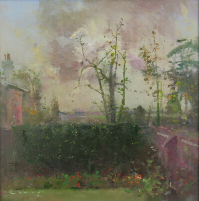 Fred Cuming, 'Patio, August'