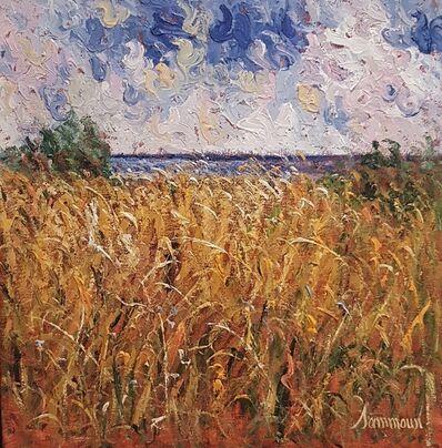 Samir Sammoun, 'wheat field summer', 2017