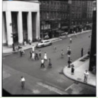 Vivian Maier, 'Untitled, n.d Aerial Street Scene', n/a