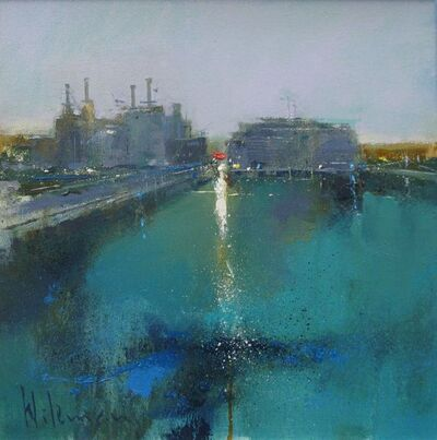 Peter Wileman, 'The Thames at Battersea II', 2018